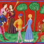 Medieval Musicians and dances