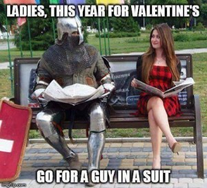 guy suit valentines